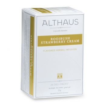 Rooibush Strawberry Cream Deli Pack чай Althaus