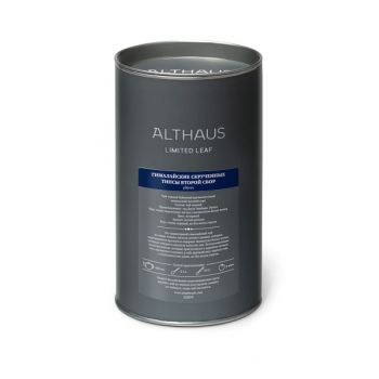 Чай черный листовой Althaus Limited Leaf Himalayan Rolled Tips Second Flush