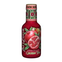 Холодный чай Arizona Pomegranate Green Tea 0,5л пэт